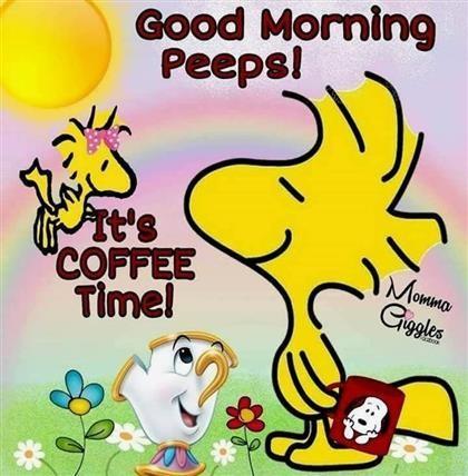 Guten Morgen Charlie Brown