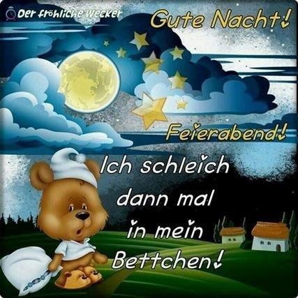 Gute Nacht Bilder Der Fröhliche Wecker Gb Bilder Gb Pics