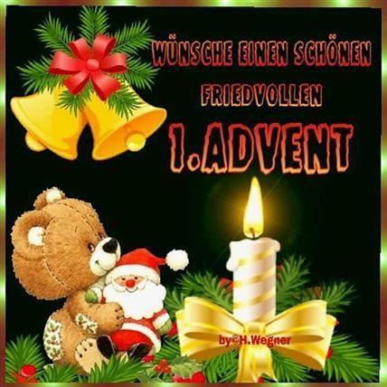 Guten Morgen Bilder Erster Advent Gb Bilder Gb Pics