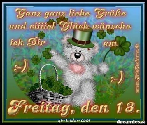 Guten Morgen Bilder Freitag Der 13 Gb Bilder Gb Pics