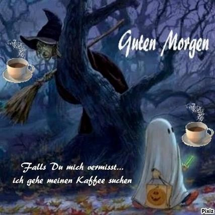 Guten Morgen Bilder Halloween Gb Bilder Gb Pics