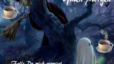 Photo of guten morgen bilder halloween
