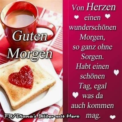 Guten Morgen Bilder Mit Herz Gb Bilder Gb Pics