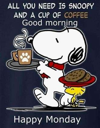 Guten morgen sprüche snoopy