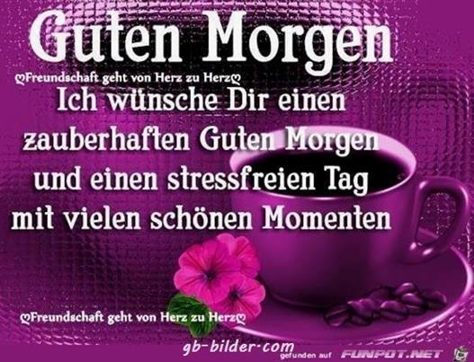 Guten Morgen Bilder Von Herzen Gb Bilder Gb Pics