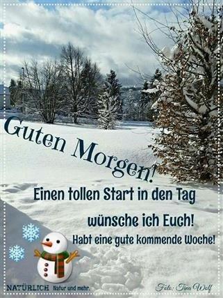 Guten Morgen Bilder Winter Kostenlos Gb Bilder Gb Pics