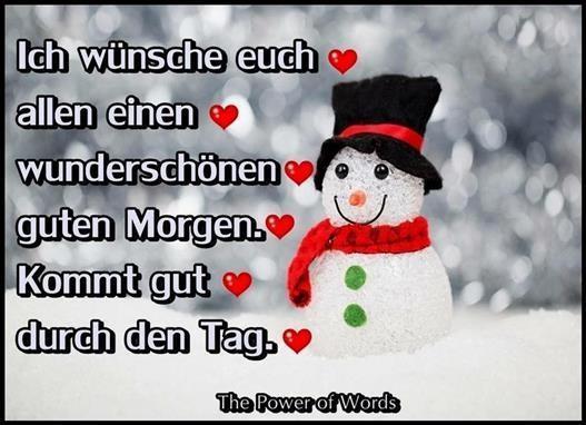 Guten Morgen Bilder Winter Gb Bilder Gb Pics