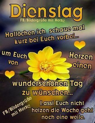 Guten Morgen Bilder Zum Dienstag Gb Bilder Gb Pics