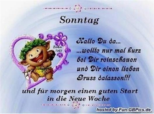 Guten Morgen Grüße Sonntag Guten Morgen Sonntag 49