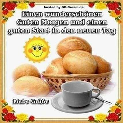 Guten Morgen Grüße In Bildern Gb Bilder Gb Pics