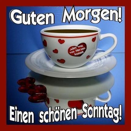 Guten Morgen Schönen Sonntag Bilder Guten Morgen Schã