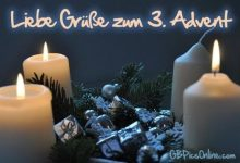 Photo of bilder zum 3 advent für whatsapp