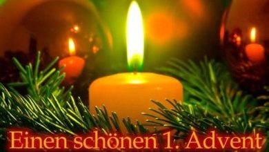 Photo of einen schönen 1. advent bilder