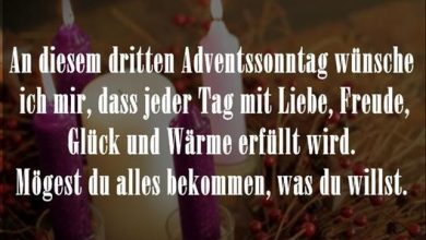 Photo of grüße zum 3 advent bilder