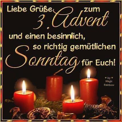3 Advent Bilder