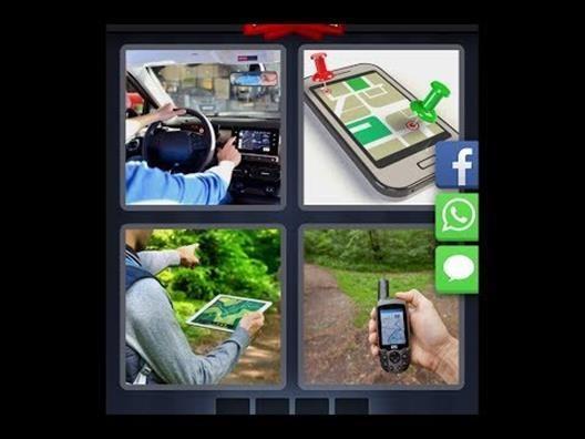 Vier Bilder Rätsel
